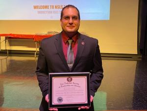 Ken B Inducted into NSLS
