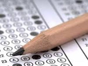 Pencil and Scantron Form